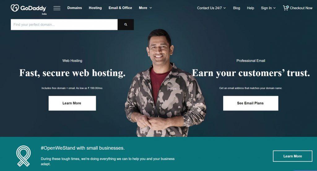 top 10 web hosting sites
