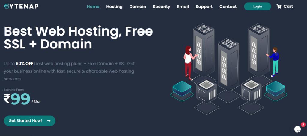 ByteNAP: Cheap & Best Web Hosting Service India
