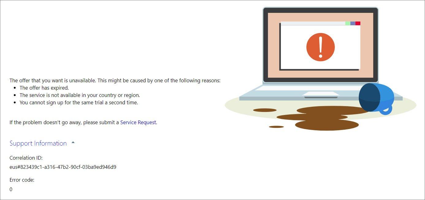 Free Windows 365 trials halted